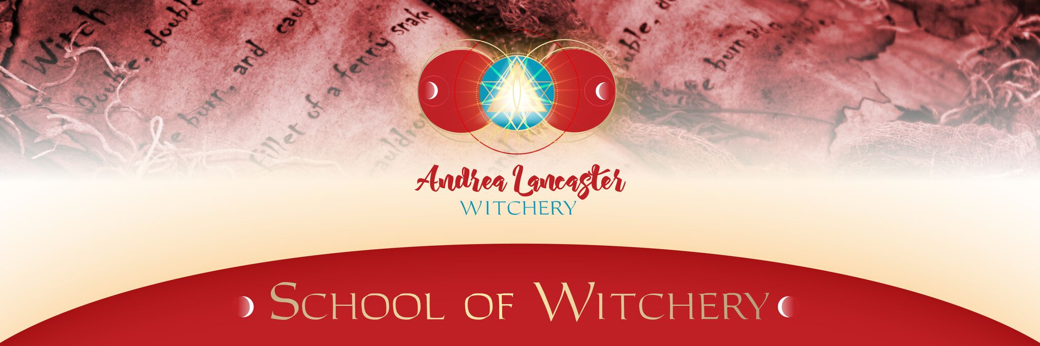 simplero school of witchery banner